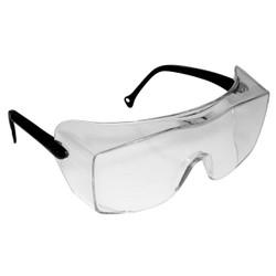 3M OX Protective Eyewear 2000, 12163-00000-20 Clear Anti-Fog Lens, Black Temple