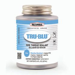RectorSeal® Tru-Blue 1/2 pt. BTC pipe thread sealant with PTFE