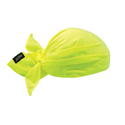 6710  Lime Evaporative Cooling Triangle Hat