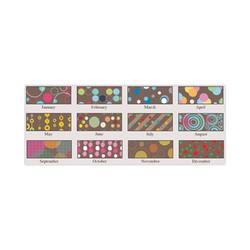 100% Recycled Bubbleluxe Wall Calendar, 12 x 16.5, 2021 341