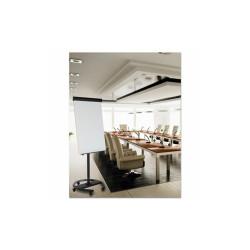 360 Multi-Use Mobile Magnetic Dry Erase Easel, 27 x 41, Black Frame EA4806156
