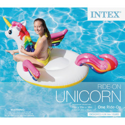 Intex Ride-On Unicorn Pool Float 57561EP