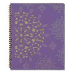 Vienna Weekly/Monthly Appointment Book, 11 x 8.5, Purple, 2021 122905
