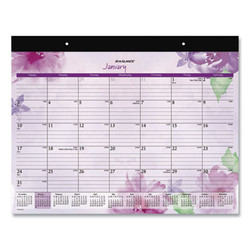 Beautiful Day Desk Pad, 21.75 x 17, Assorted, 2021 SK38704