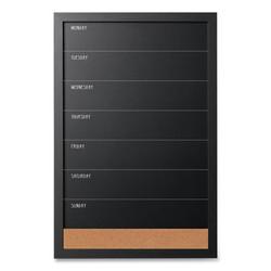 Black & White Message Board Set, Assorted Sizes & Colors, 3/Set SOR033