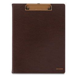 Signature Collection Monthly Clipfolio, 11 x 8, Distressed Brown, 2021 YP60009