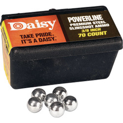 Daisy Steel 3/8 In. Slingshot Ball (70-Count) 988183-446