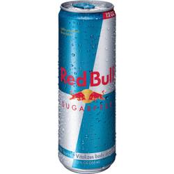 Red Bull 12 Oz. Sugar-Free Energy Drink RB4817 Pack of 24