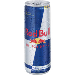 Red Bull 8.4 Oz. Original Flavor Energy Drink RB1718 Pack of 24