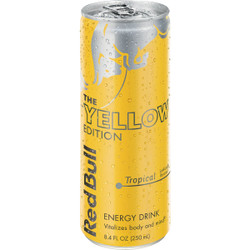 Red Bull 12 Oz. Tropical Flavor Energy Drink RB203753 Pack of 24