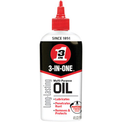 3-IN-ONE 4 Oz. Drip Can Multi-Purpose Lubricant 100703