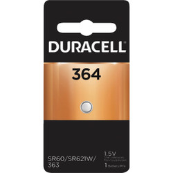 Duracell 364 Silver Oxide Button Cell Battery 66272