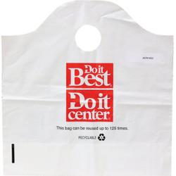 Do it Best 22 Lb. Capacity Reusable Plastic Shopping Bag (250-Pack) ACR00250
