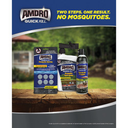 Amdro Quick Kill Ready To Use Tablet Mosquito Bombs, (6-Pack) 100530552