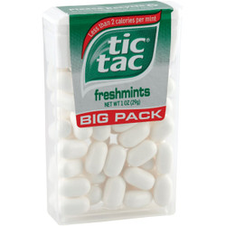 Tic Tac 1 Oz. Freshmint Mints Big Pack 112090 Pack of 12