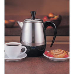 Farberware 4 Cup Stainless Steel Coffee Percolator FCP240