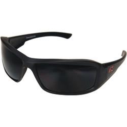 Edge Eyewear Brazeau Matte Black Frame Safety Glasses with Smoke Lenses XB136