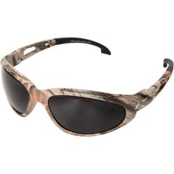 Edge Eyewear Dakura Camouflage Frame Safety Glasses with Smoke Lenses SW116CF