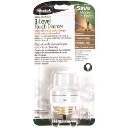 Westek Touch Dimmer Medium Base White Lamp Socket 6603BC