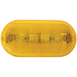 Peterson Oblong Amber 2 In. Clearance Light V135A
