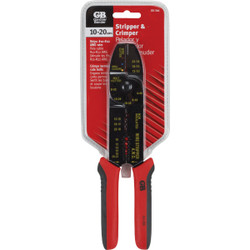 Gardner Bender 8 In. 10 AWG to 20 AWG Stainless Steel Multi Wire Stripper GS-366