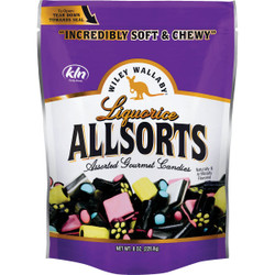 Wiley Wallaby Assorted Liquorice Flavors 8 Oz. Candy 117742