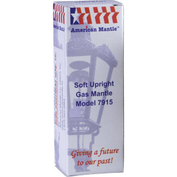 American Mantle Upright Gas Light Mantle 7915