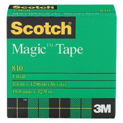 3M Scotch 3/4 In. x 1296 In. Magic Transparent Tape Refill 810-36