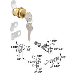 Prime-Line Threaded Barrel Design Mailbox Lock S 4648