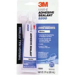 3M 3 Oz. White Marine Adhesive Sealant 5200 05203