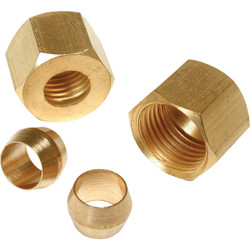 Dial 1/4 In. Compression Nut and Sleeve 93116
