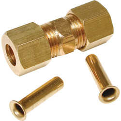 Dial 1/4 In. Brass Compression Union 93296