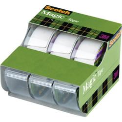3M Scotch 3/4 In. x 300 In. Magic Transparent Tape (3-Pack) 3105