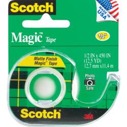 3M Scotch 1/2 In. x 450 In. Magic Transparent Tape 104