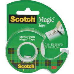 3M Scotch 1/2 In. x 800 In. Magic Transparent Tape 119