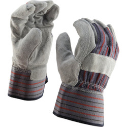 Do it Best Men's Large Leather Palm Work Glove 755257