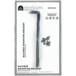 Gibraltar Adjustable Metal Mailbox Bracket (4-Piece) MB100000