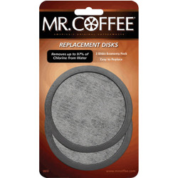 Mr. Coffee Replacement Water Filter Disc (2-Pack) WFFPDQ10FS
