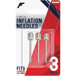Franklin Standard Metal Inflating Needles (3-Pack) 3118