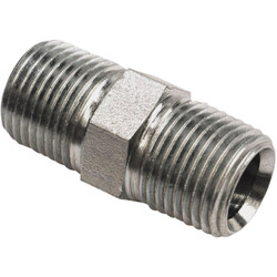 Apache 1/2 In. Male Pipe x 1/2 In. Male Pipe Straight Hydraulic Hose Adapter