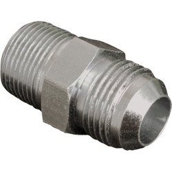 Apache 1/2 In. Male JIC x 1/2 In. Male Pipe Straight Hydraulic Hose Adapter