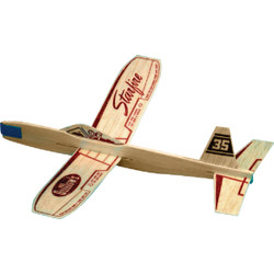 Paul K Guillow Starfire 12 In. Balsa Wood Glider Plane 35 Pack of 24