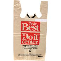Do it Best 15 Lb. Capacity Standard T-Shirt Shopping Bag (1000-Pack) ACR00852