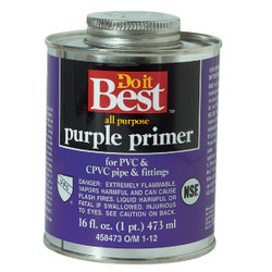 Do it Best 16 Oz. Purple Pipe and Fitting Primer for PVC/CPVC 019092