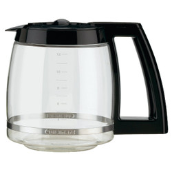 Cuisinart 12 Cup Black Replacement Coffee Decanter DCC1200PRC