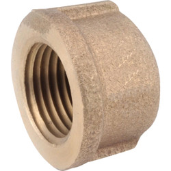 Anderson Metals 3/4 In. Red Brass Threaded Pipe Cap 738108-12