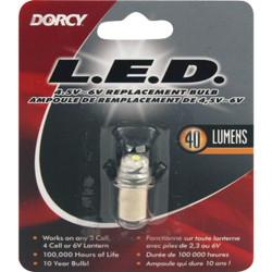 Dorcy 4.5V to 6V LED Replacement Flashlight Bulb 41-1644