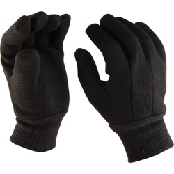 Do it Men's Large Lined Jersey Work Glove with Knit Wrist 760256
