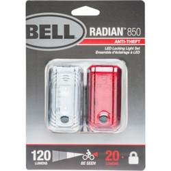 Bell Sports Radian 850 LED Bicycle Locking Light Set 7115949