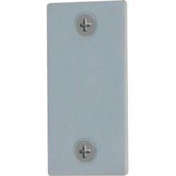 Defender Security 1-1/8 In. x 2-1/4 In. Latch Bolt Filler Plate U 9521